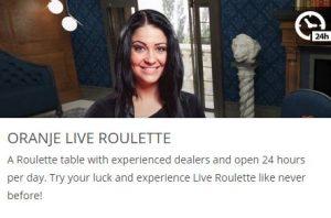 live roulette oranje casino